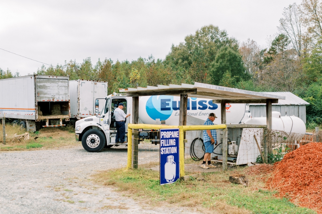 Euliss propane filling station